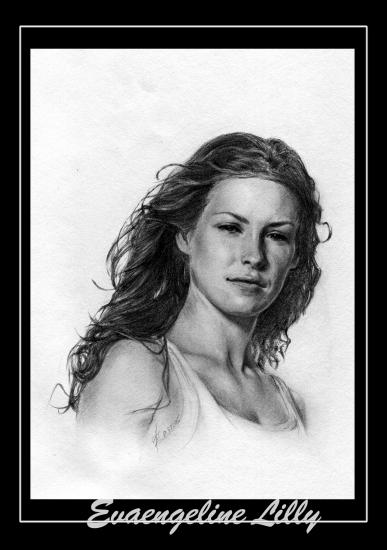 Evangeline Lilly par zepheus